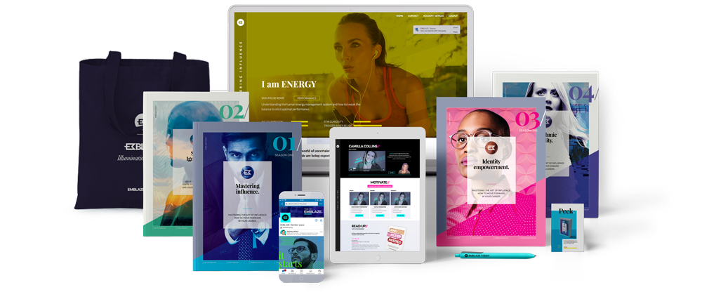 Our suite of products includes quarterly publications, digital only articles and live sessions. The wisdom we share is made in collaboration with leading thinkers, coaches, and experts in their field.