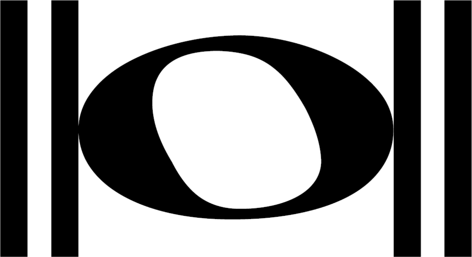 An HD whole note, also called a semibreve; a musical symbol and musical note value.