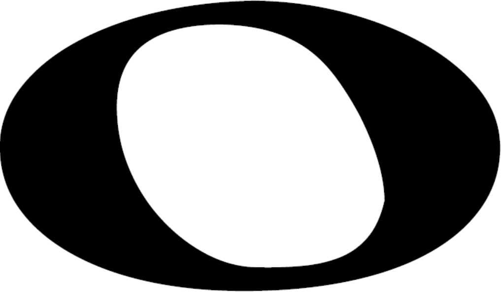 A HD whole note, also called a semibreve; a musical symbol and musical note value.
