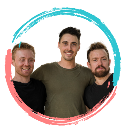 Portrait of the Loominate Co-Founding team