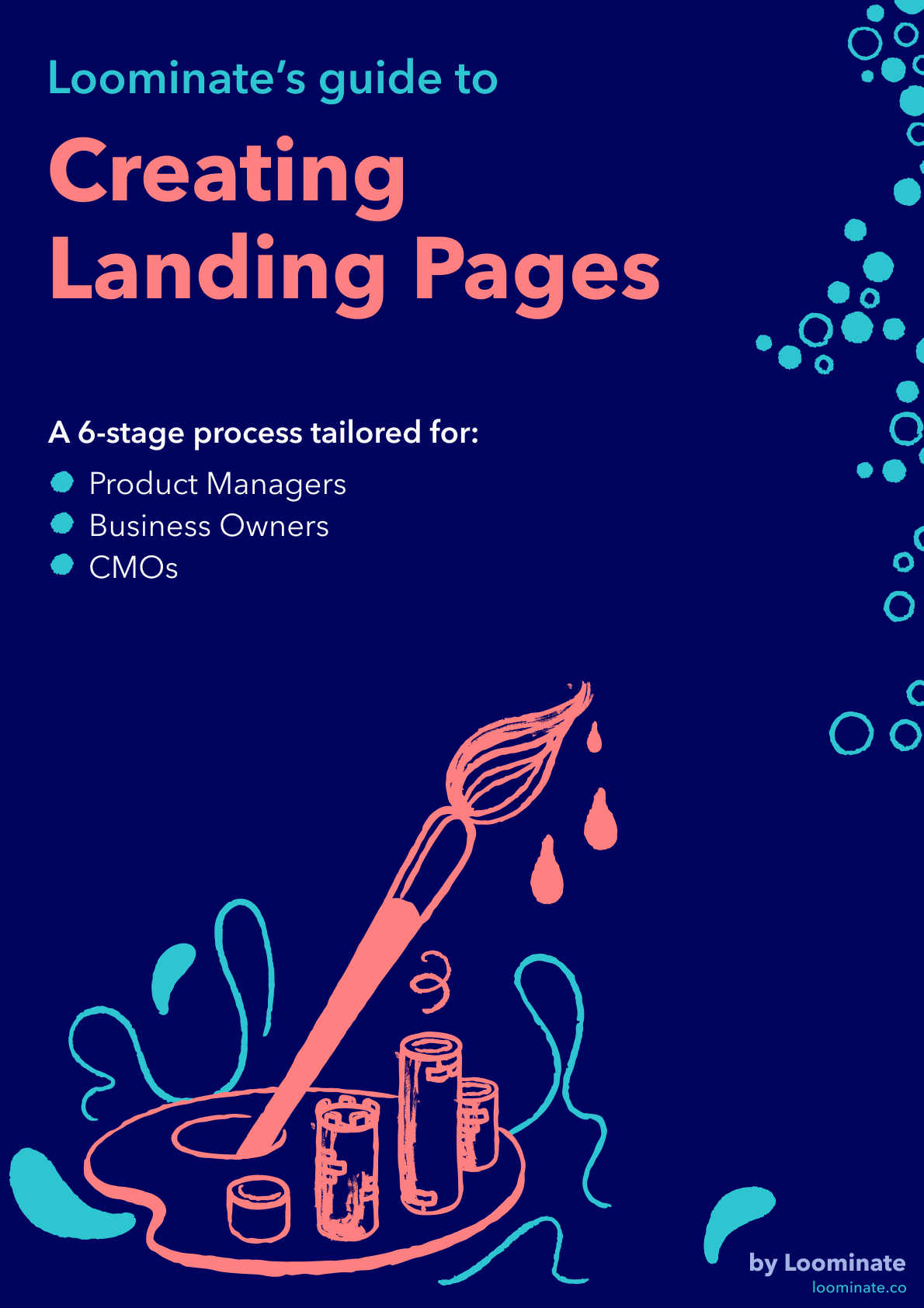 Creating Landing Pages PDF cover preview