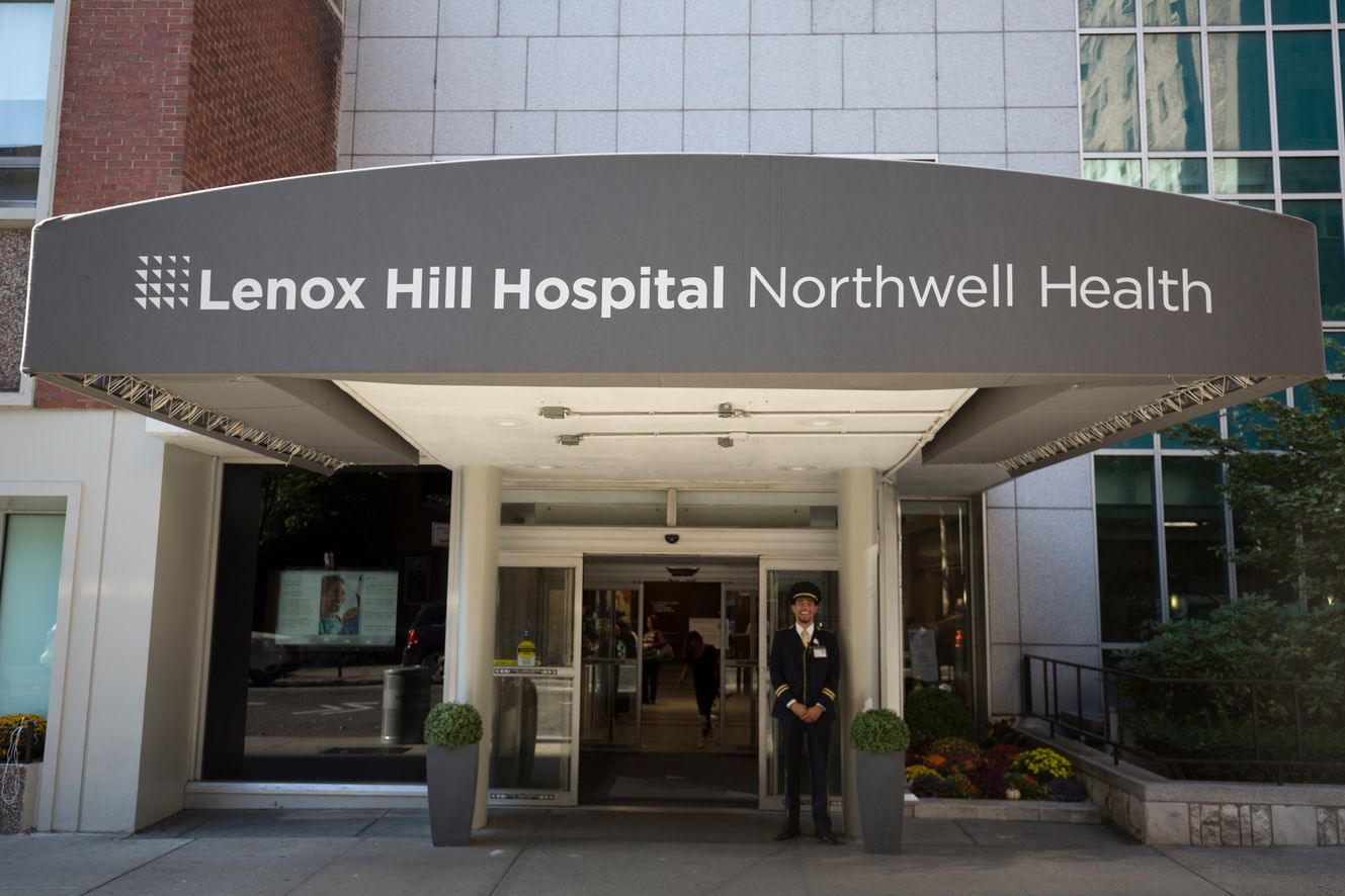Picture of Lenox Hill Hospital on the Upper East Side of Manhattan