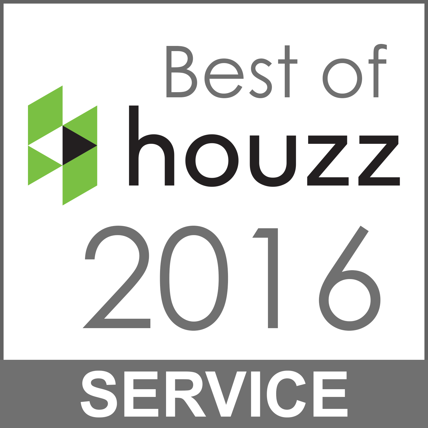 William Jude Designs |  Best of Houzz service award