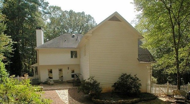 Siding replacement project in Roswell
