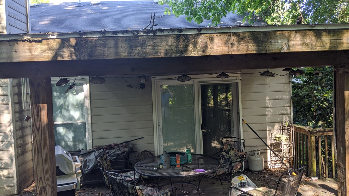 Siding replacement project in Lawrenceville Georgia
