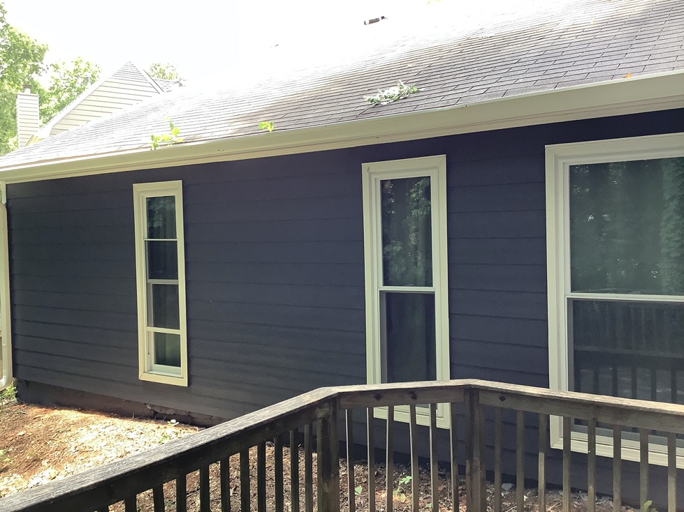 Siding replacement in Lawrenceville