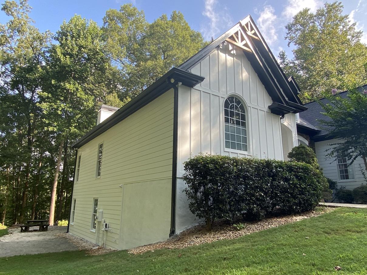 James Hardie Board and Batten installed on house in Cumming Georgia