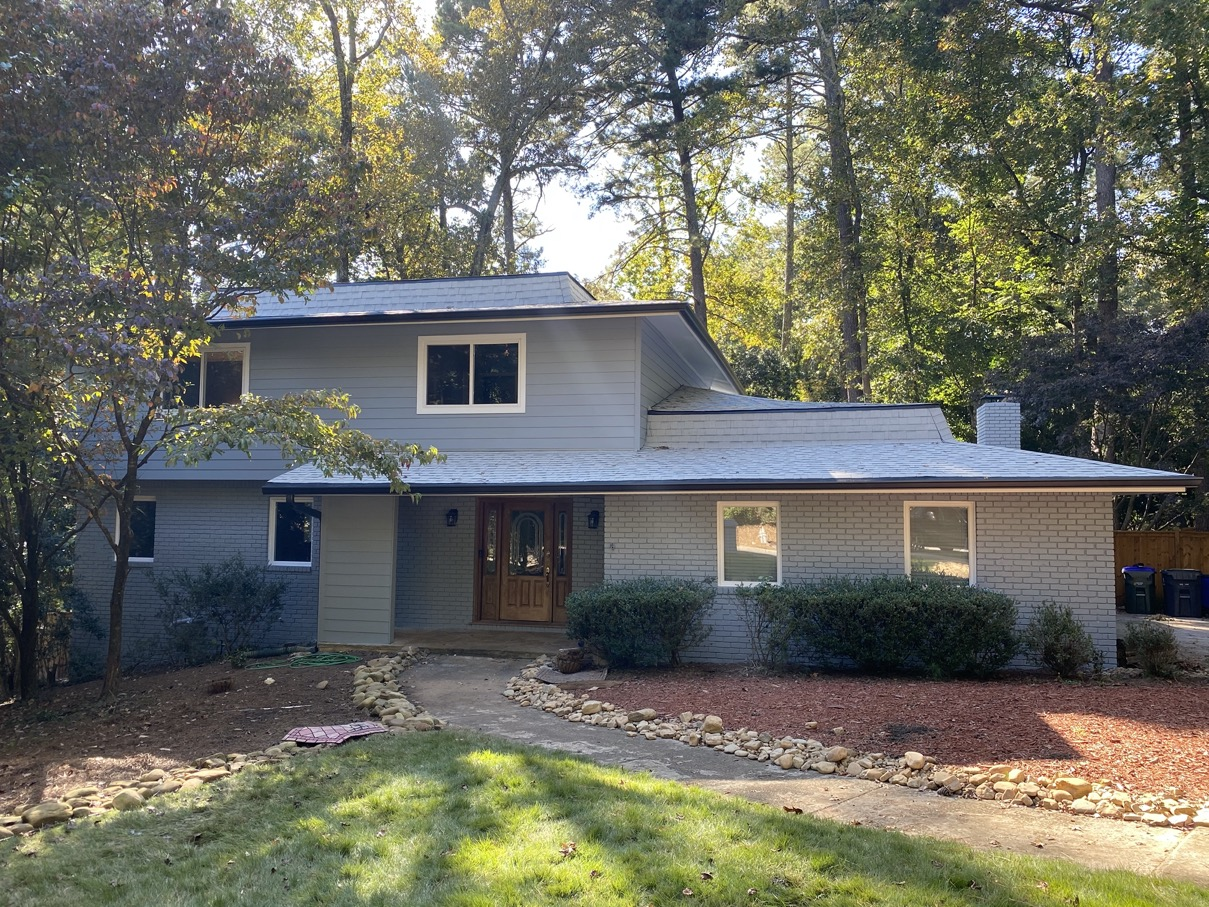 Siding replacement in Roswell Georgia