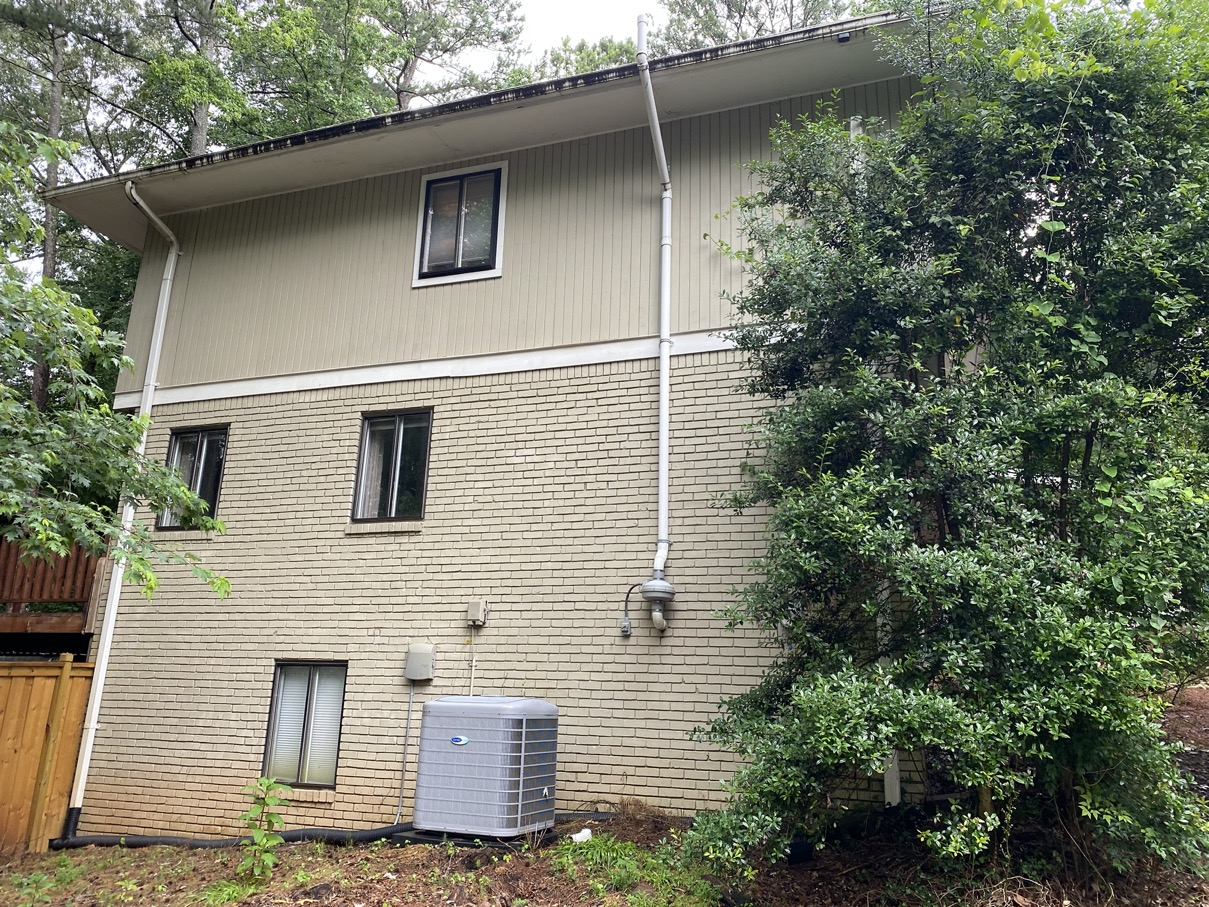 New siding needed in Roswell Georgia