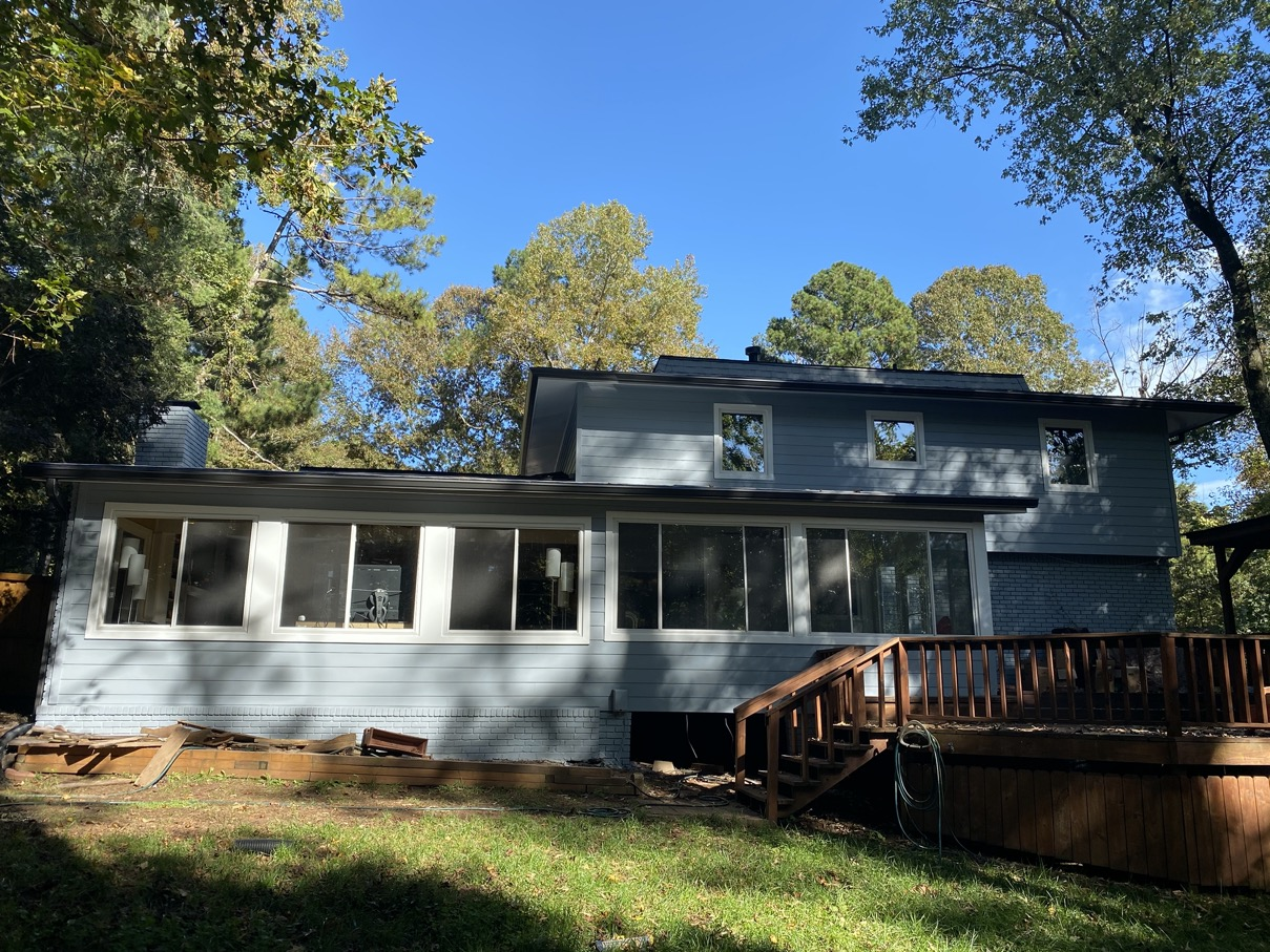 New James Hardie siding in Roswell Georgia