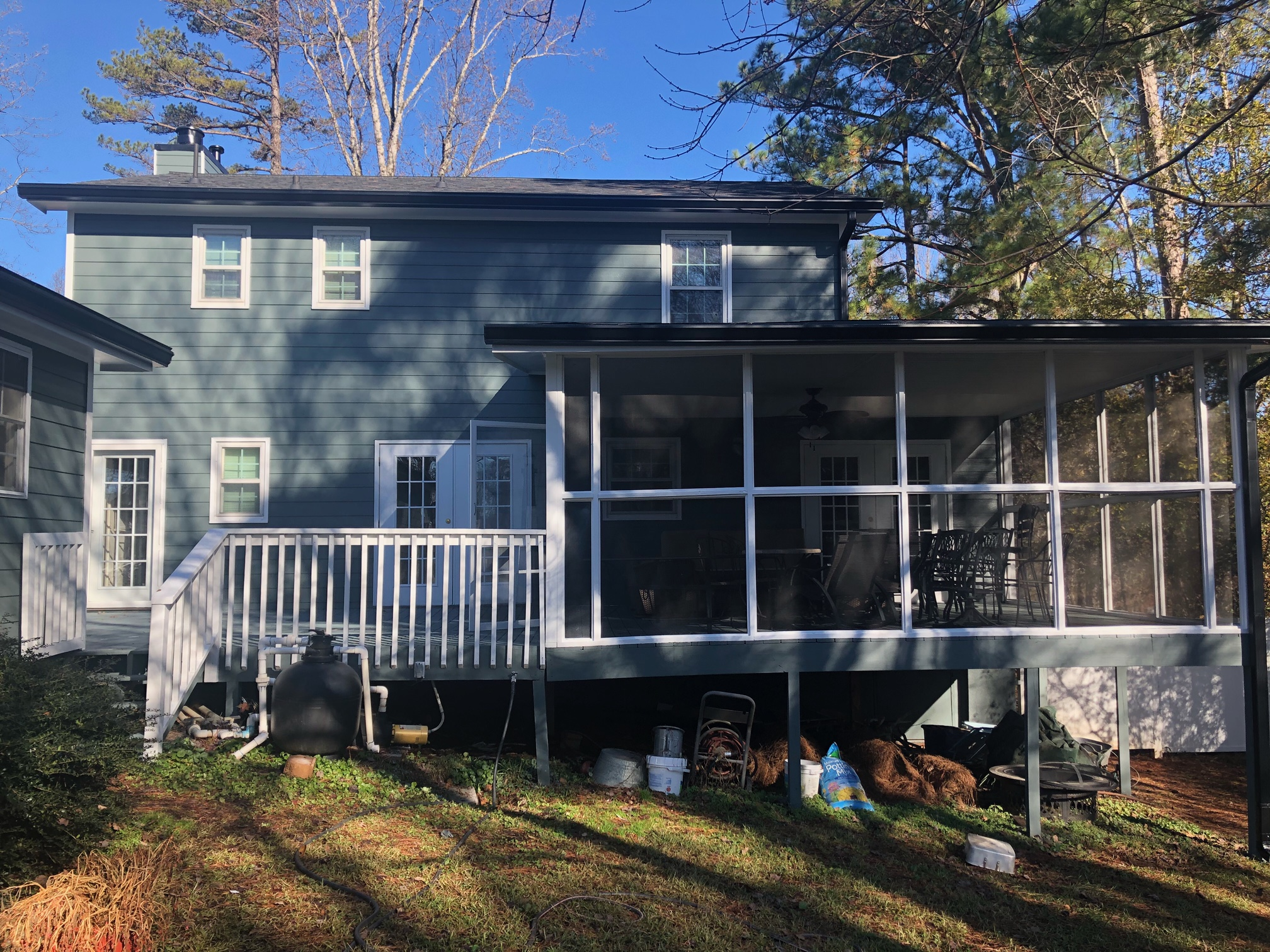 New siding and paint color in Gainesville