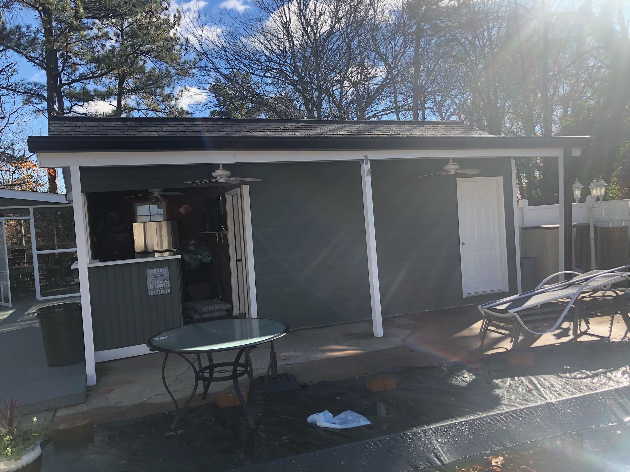 Siding replacement and rot repair