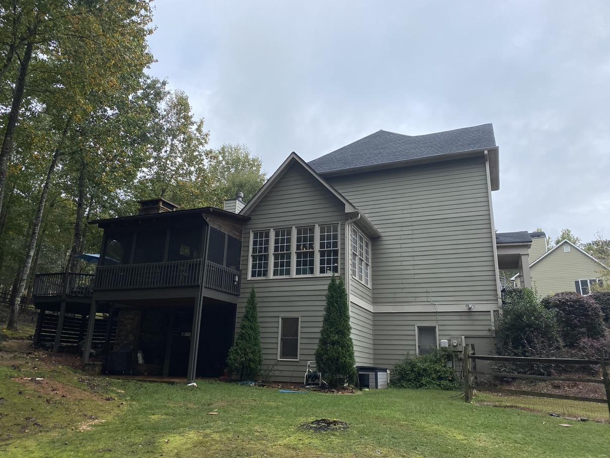cumming ga two story with back deck