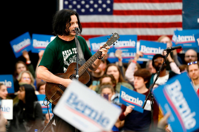 A Running List of Every Musician Playing Bernie Sanders Rallies