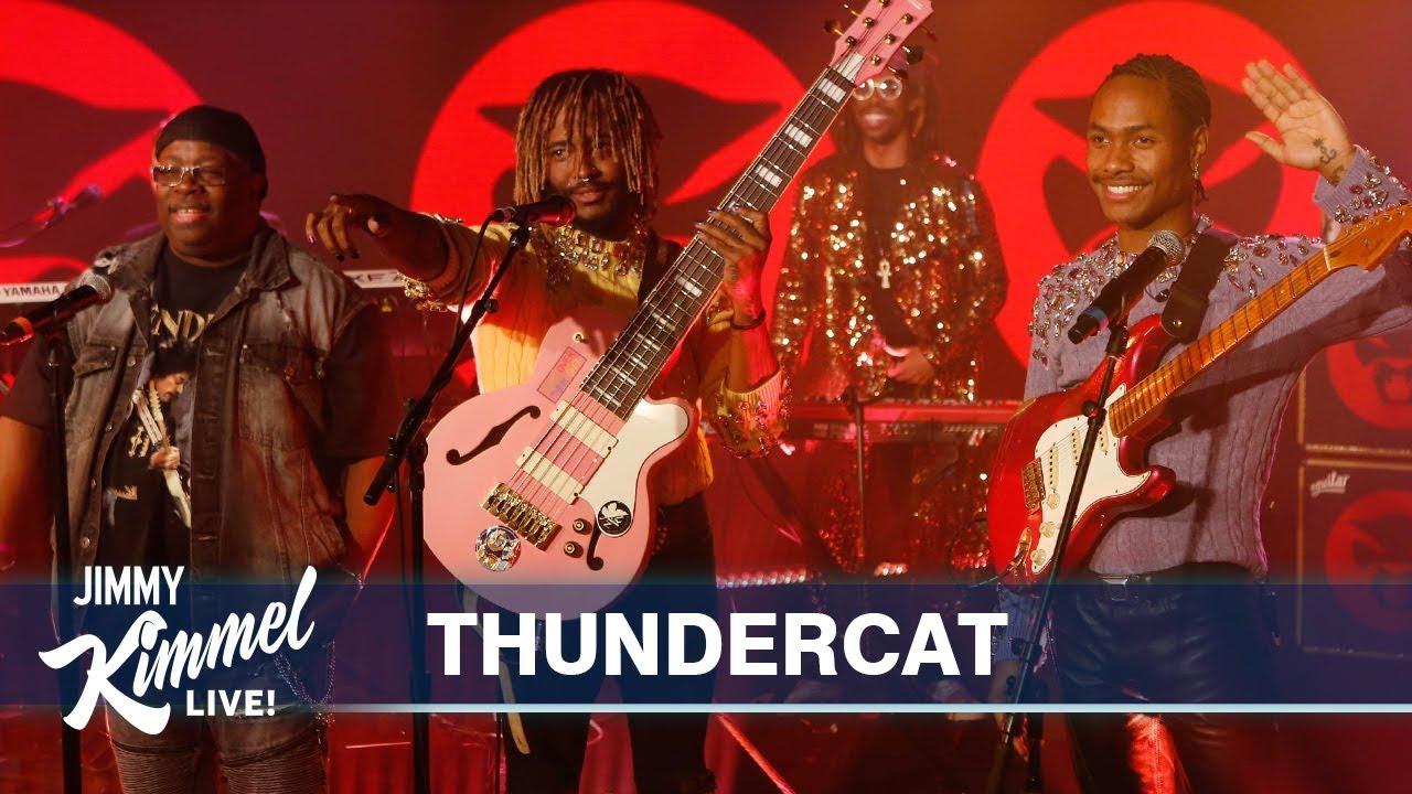 Watch: Thundercat Play Jimmy Kimmel LIve