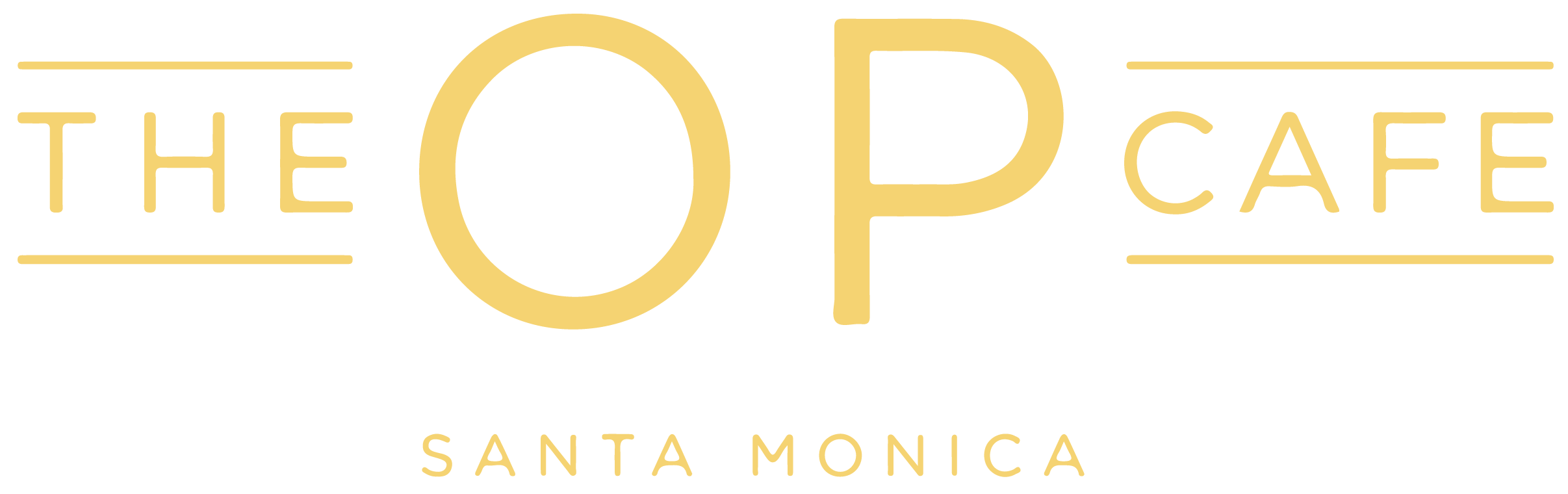 The OP Cafe Logo