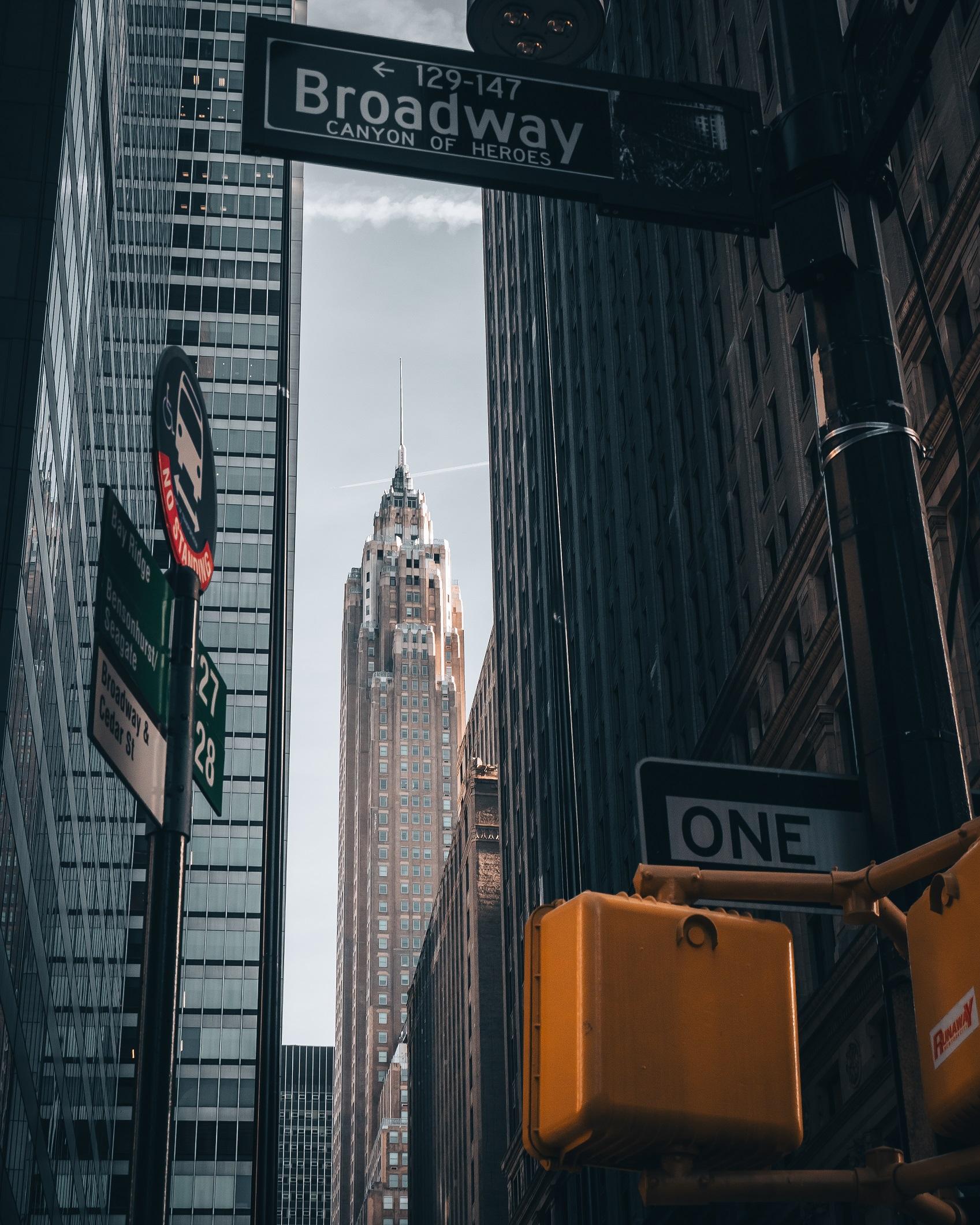 70 Pine building in Downlown Manhattan, New York