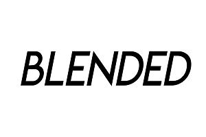 blended magazine brand logo