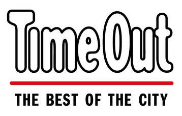 time out magazine brand logo