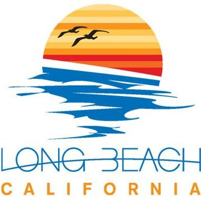 long beach california tourism brand logo