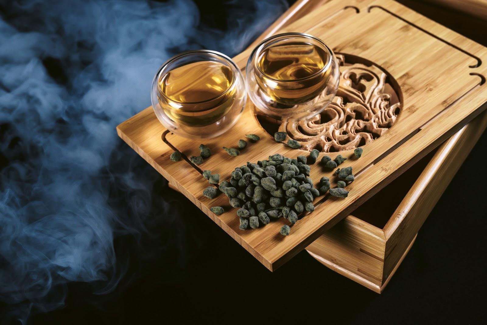 tieguanyin tea on board