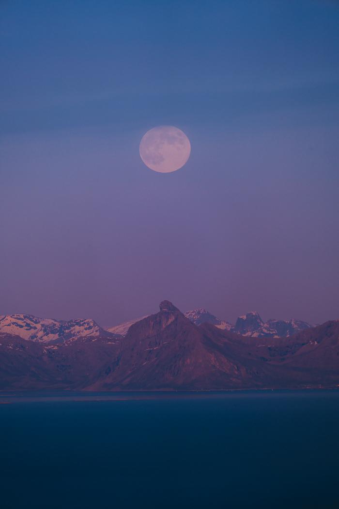 Måneoppgang