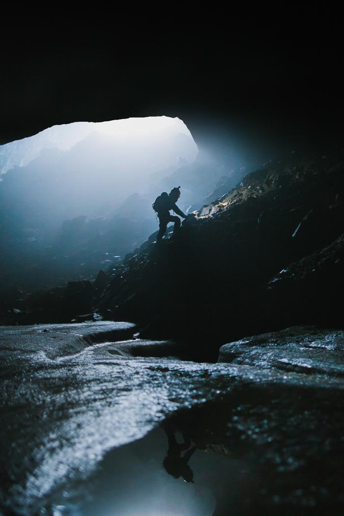Klatrer i hule