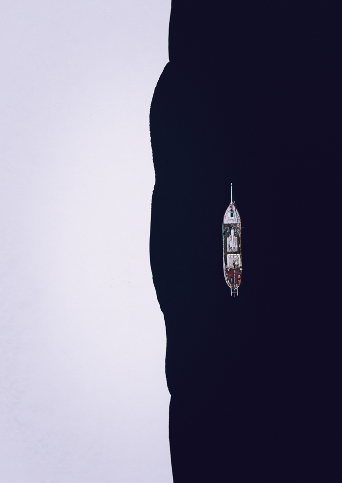 Båt i Ramfjorden