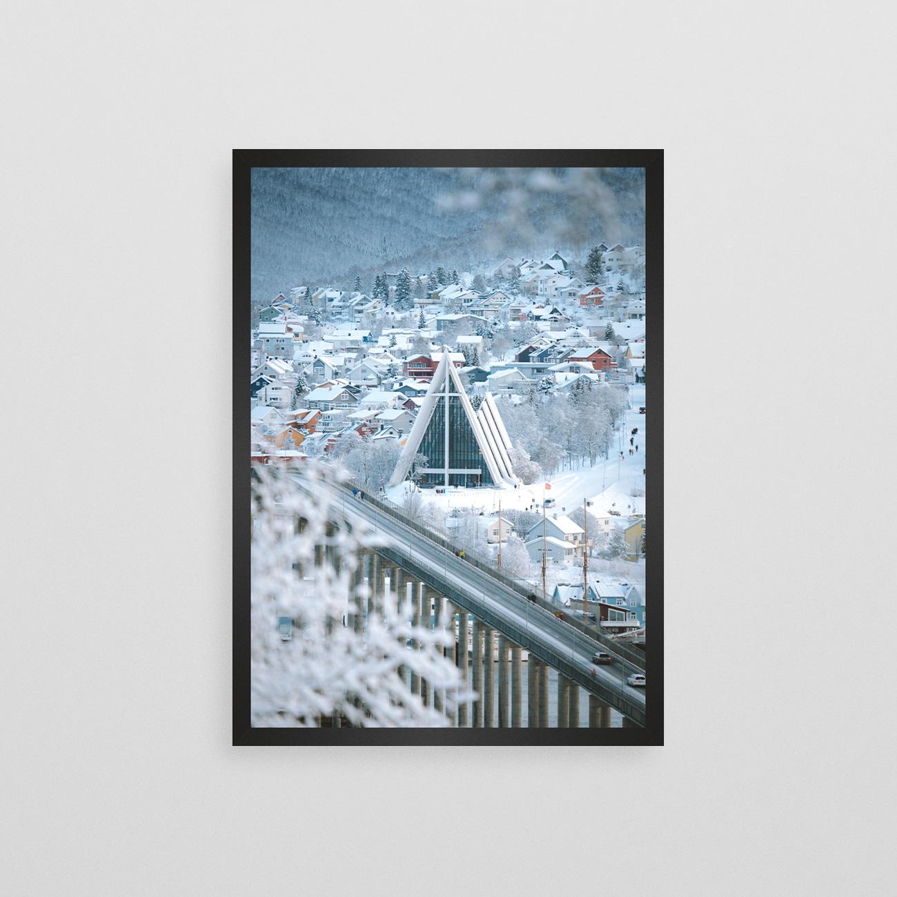 Hvitt vinterdekke