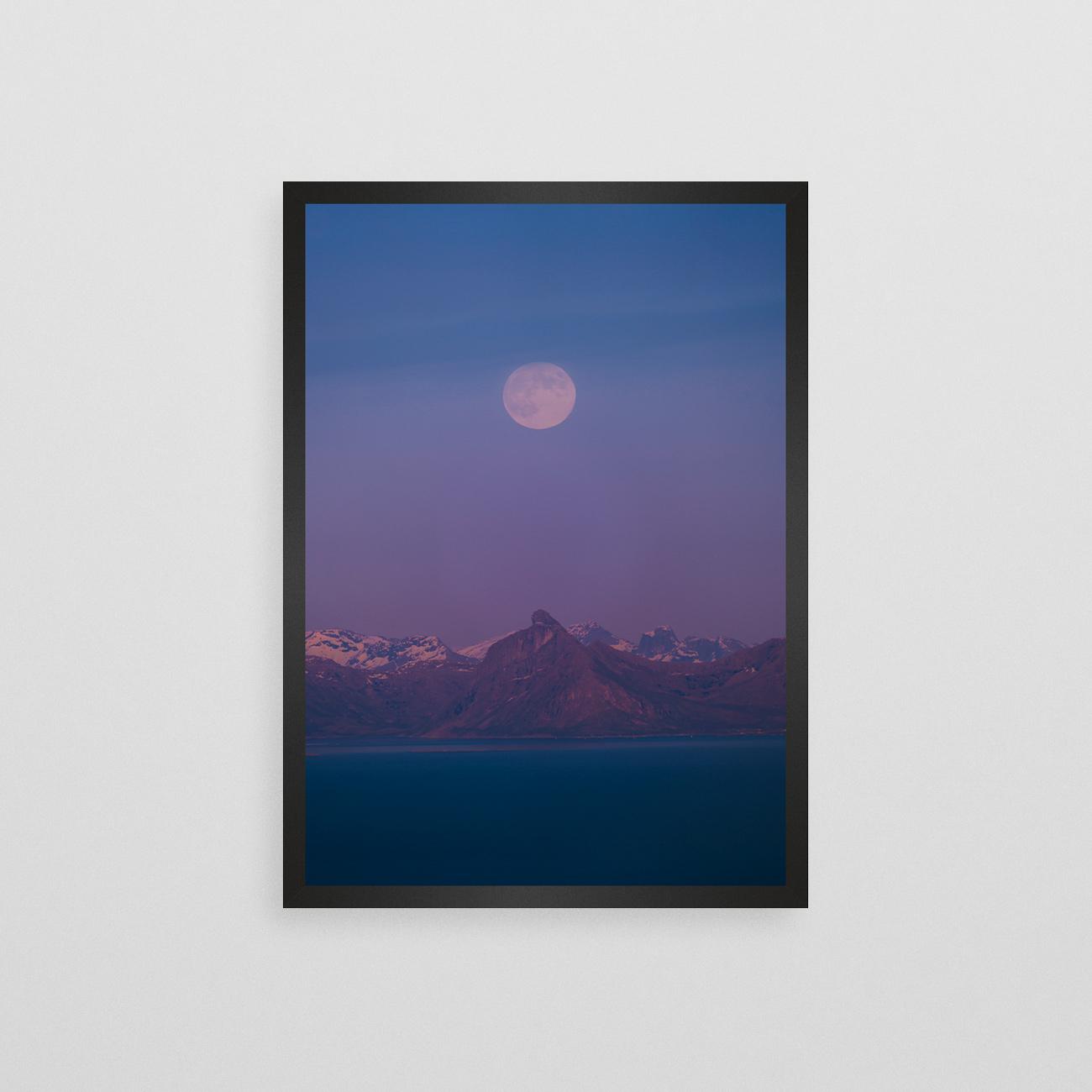 Månelyst i Midten av Mai