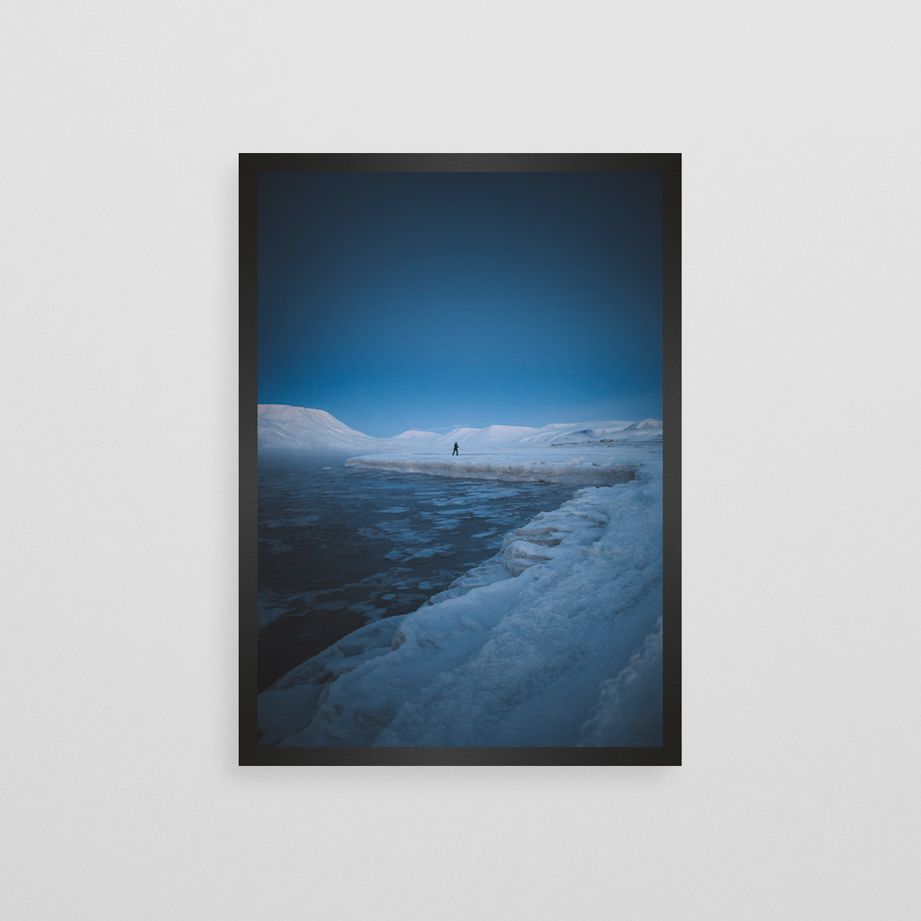 Snødekte Svalbard