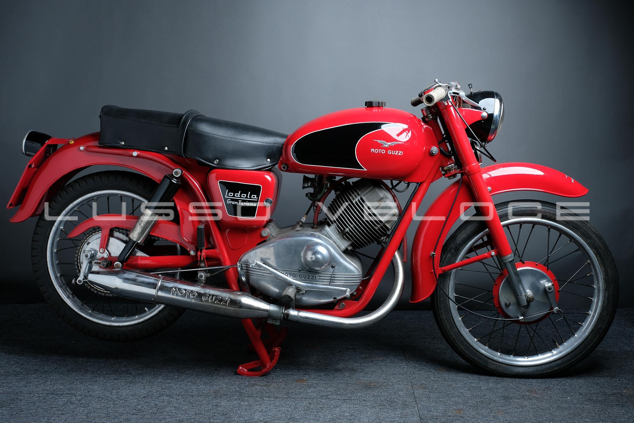 1957 Moto Guzzi 175 Lodola Sport