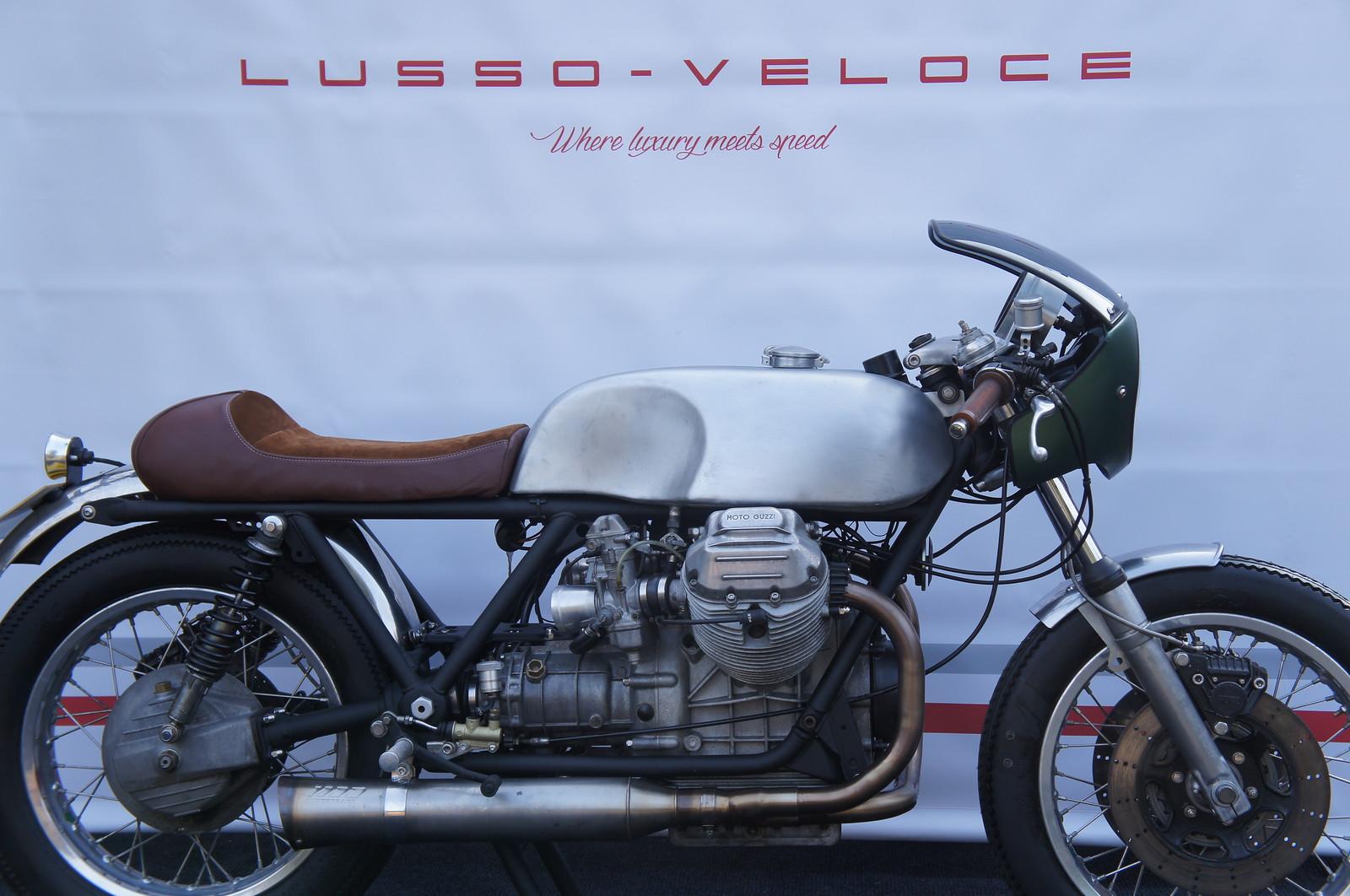 Moto Guzzi Cafe Racer By Lusso Veloce