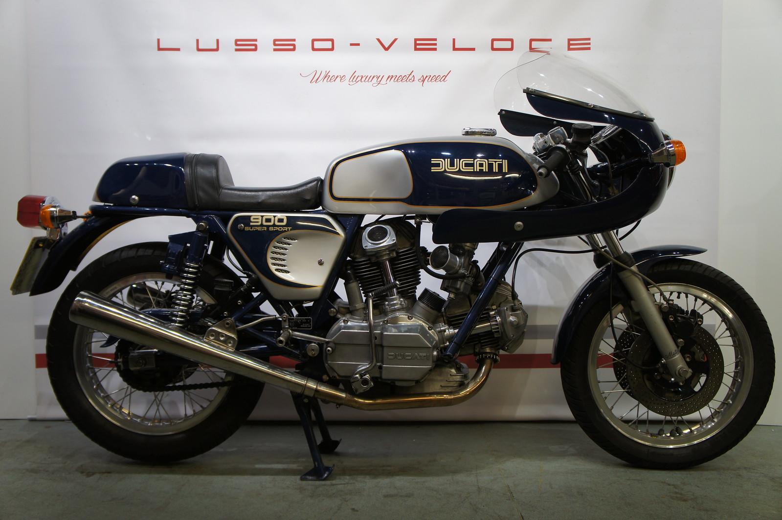 Ducati 900 SS Bevel