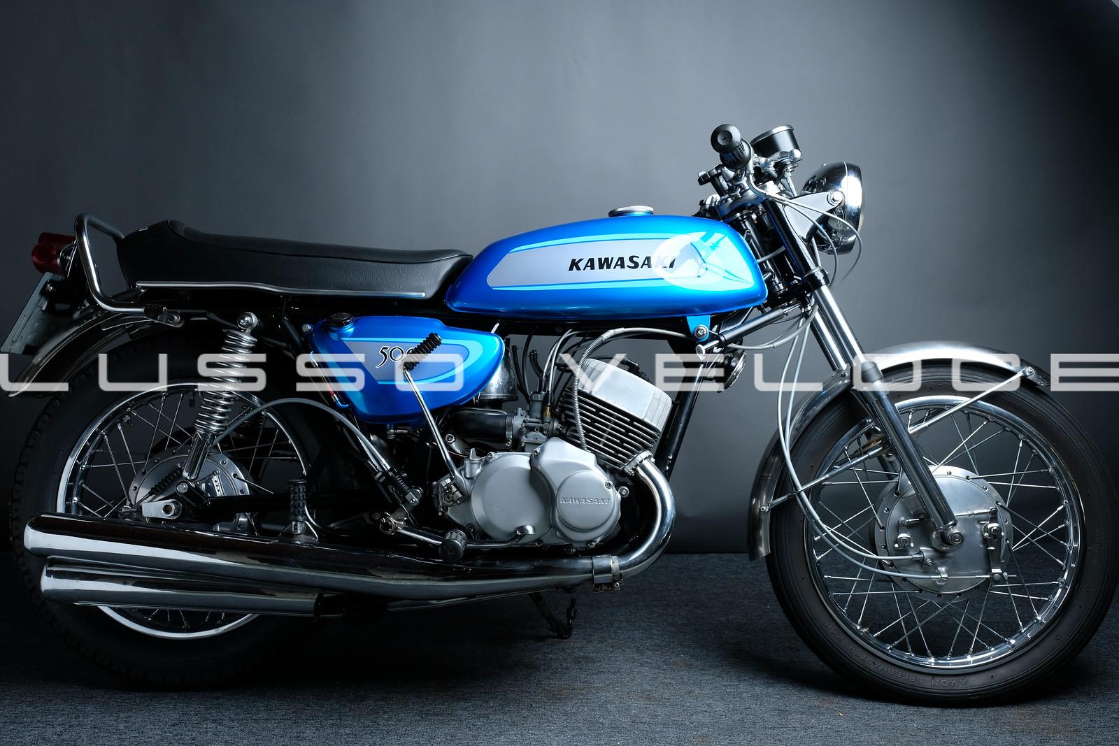 Kawasaki KH500 H1A