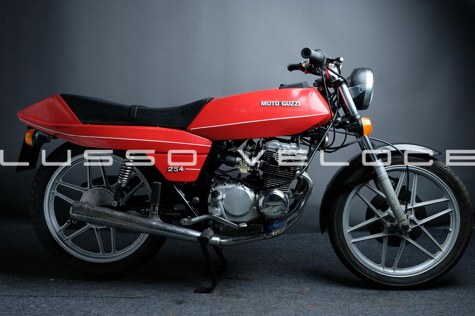 Moto Guzzi 254 project