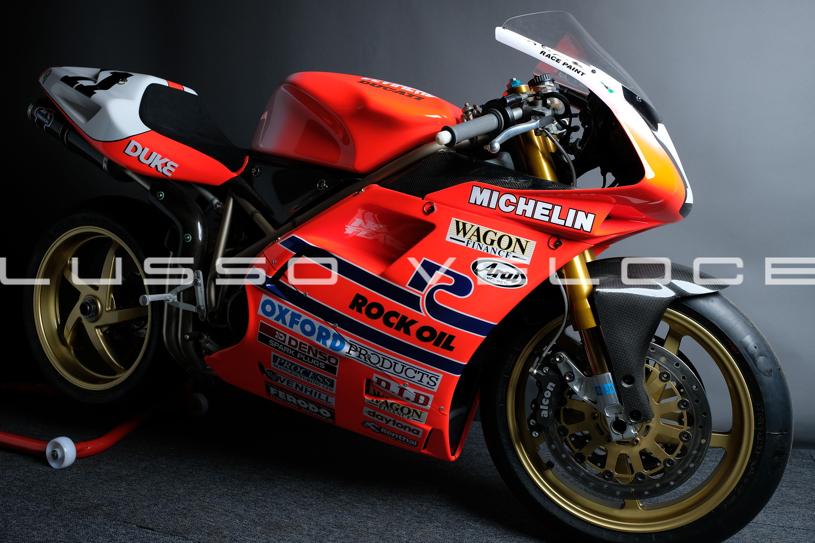 Ducati 955 RS 1995 Ex Hislop BSB Title winner