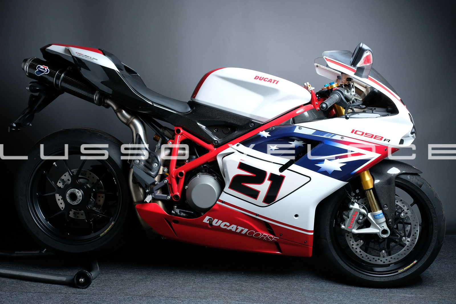 Ducati 1098 R Bayliss Limited Edition with ZERO miles!