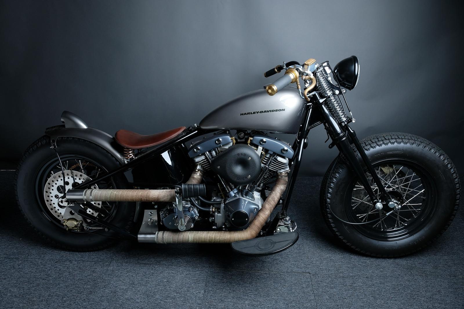 Harley Bobber 1973
