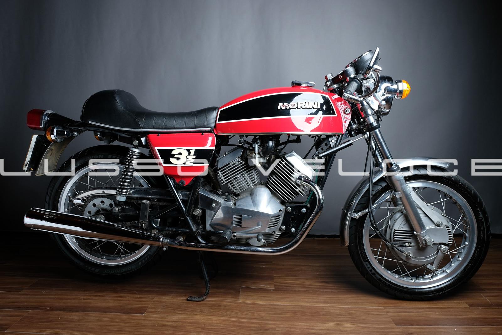 Moto Morini 350 Sport Double Drum 350
