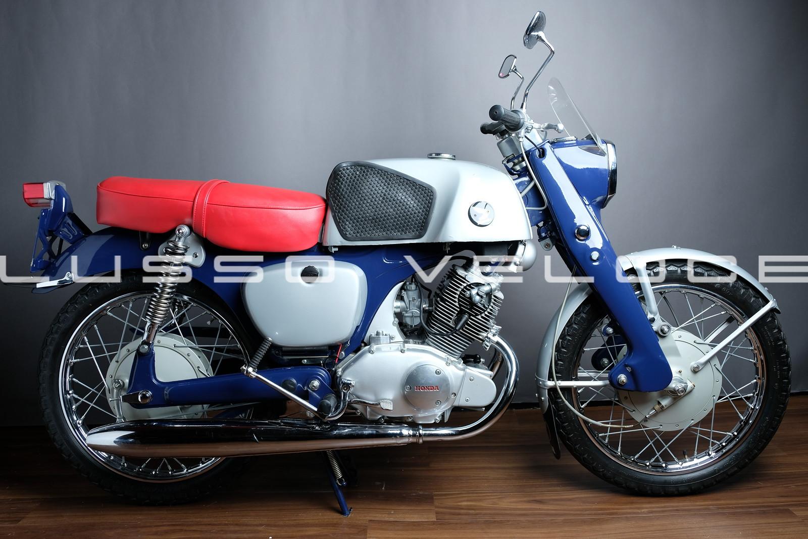 Honda CB92 Benly OHC 125