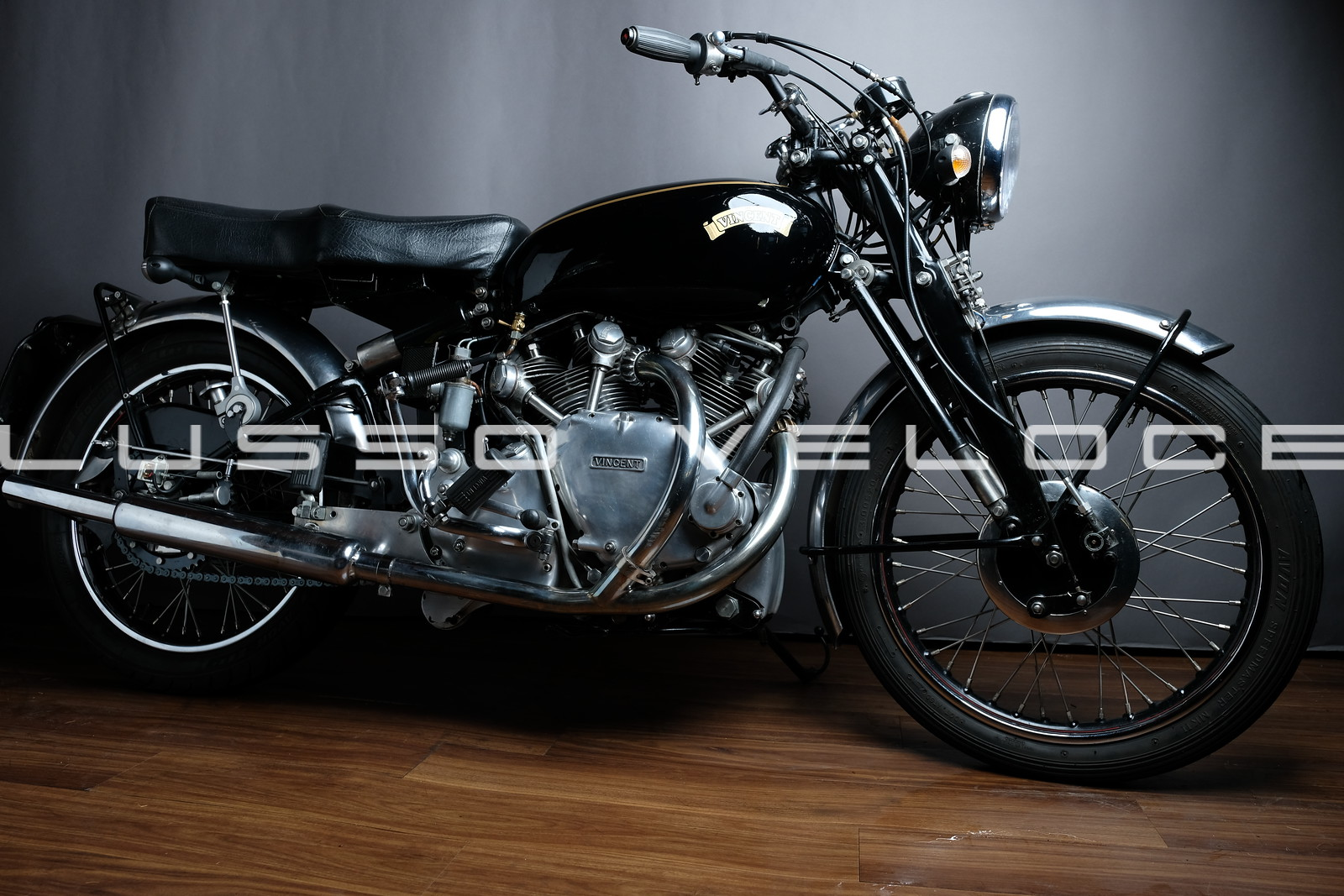 Vincent Rapide twin 1952 Elec Start