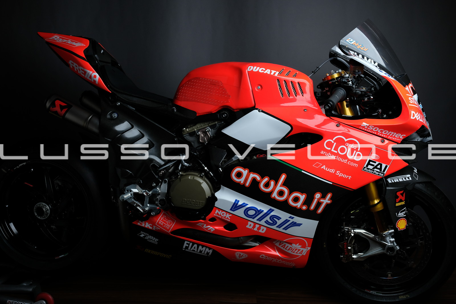 Ducati F18 Panigale World Superbike Ex Rinaldi