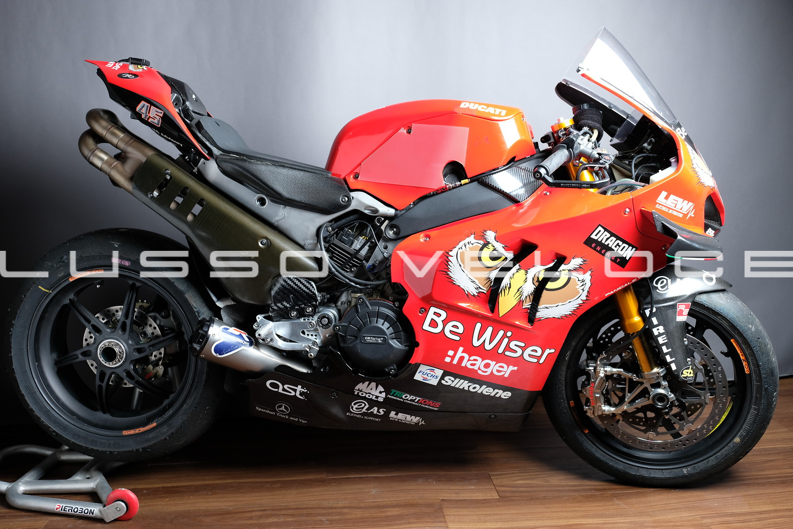 Ducati V4 RS Reddings championship BSB winning bike