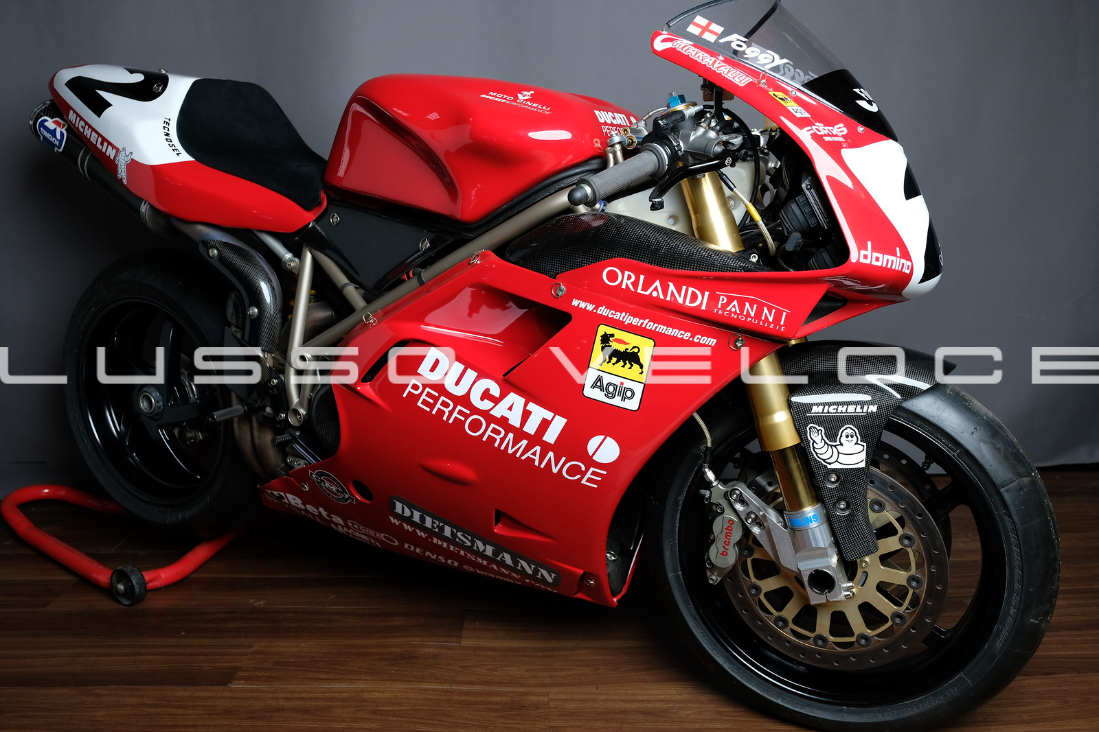 Ducati 1998 996 RS Corse in Foggy livery
