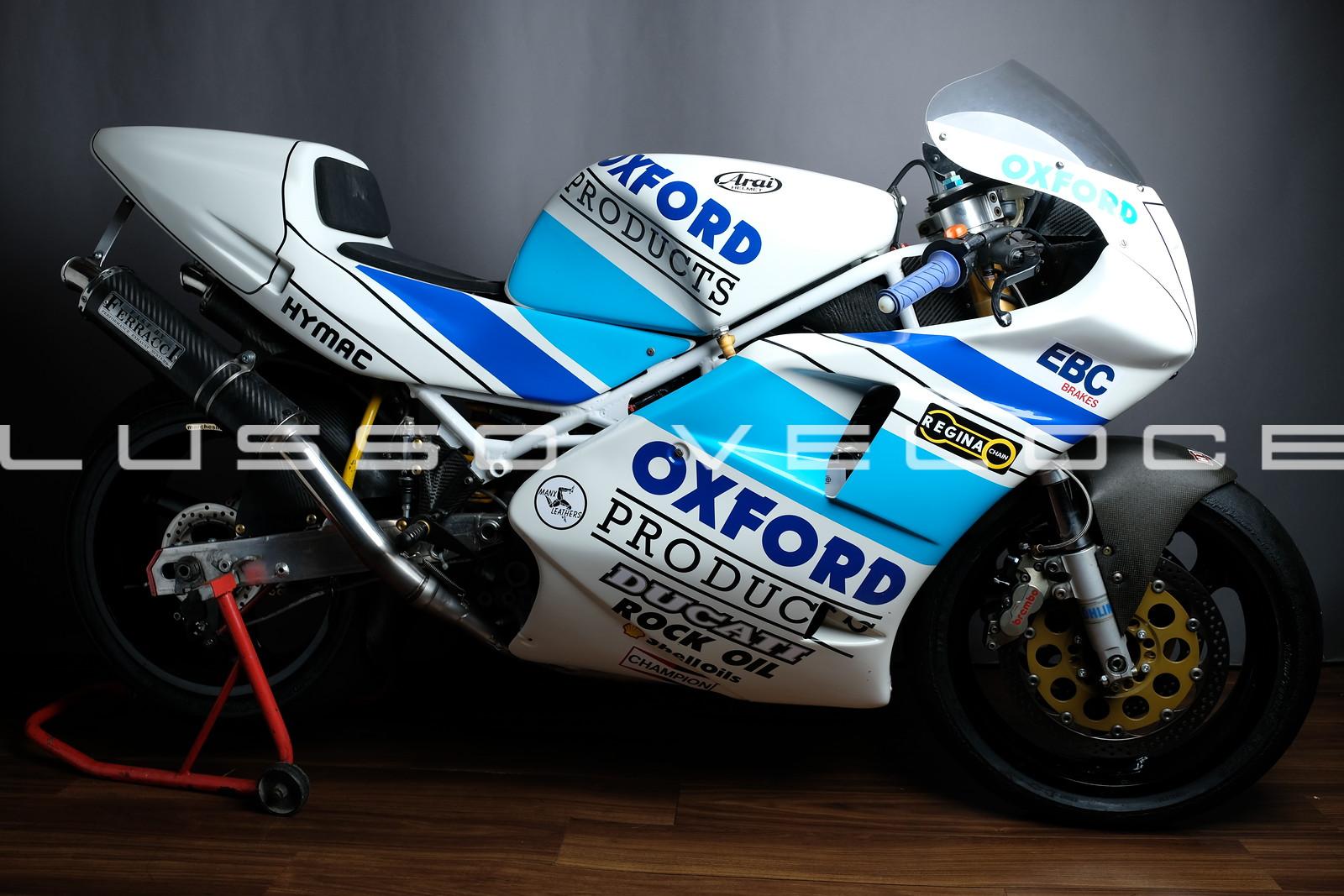 Ducati 888 Corse Ex Hizzy, Nation, Dunlop, Stringer!