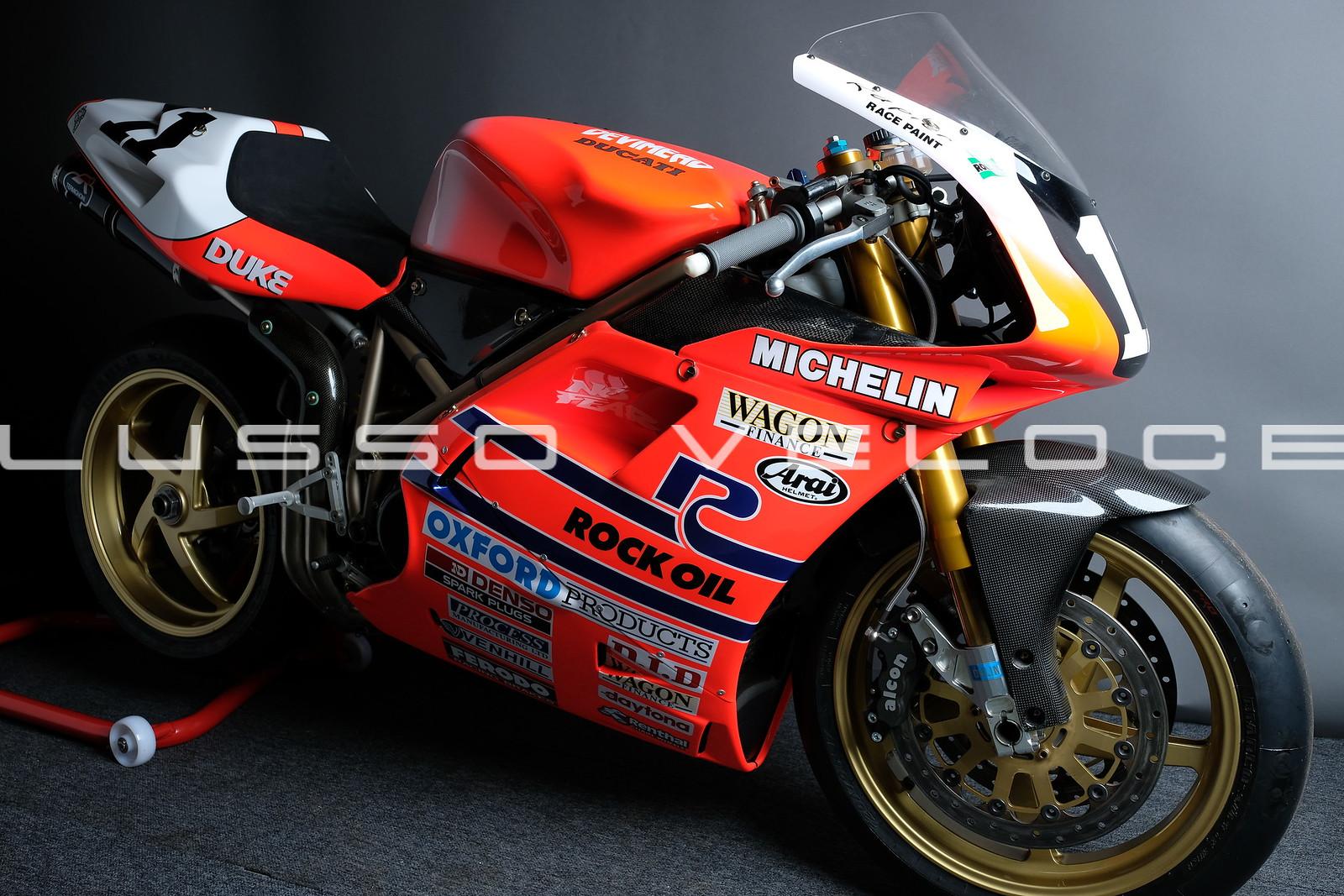 Ex Hislop 955 Ducati