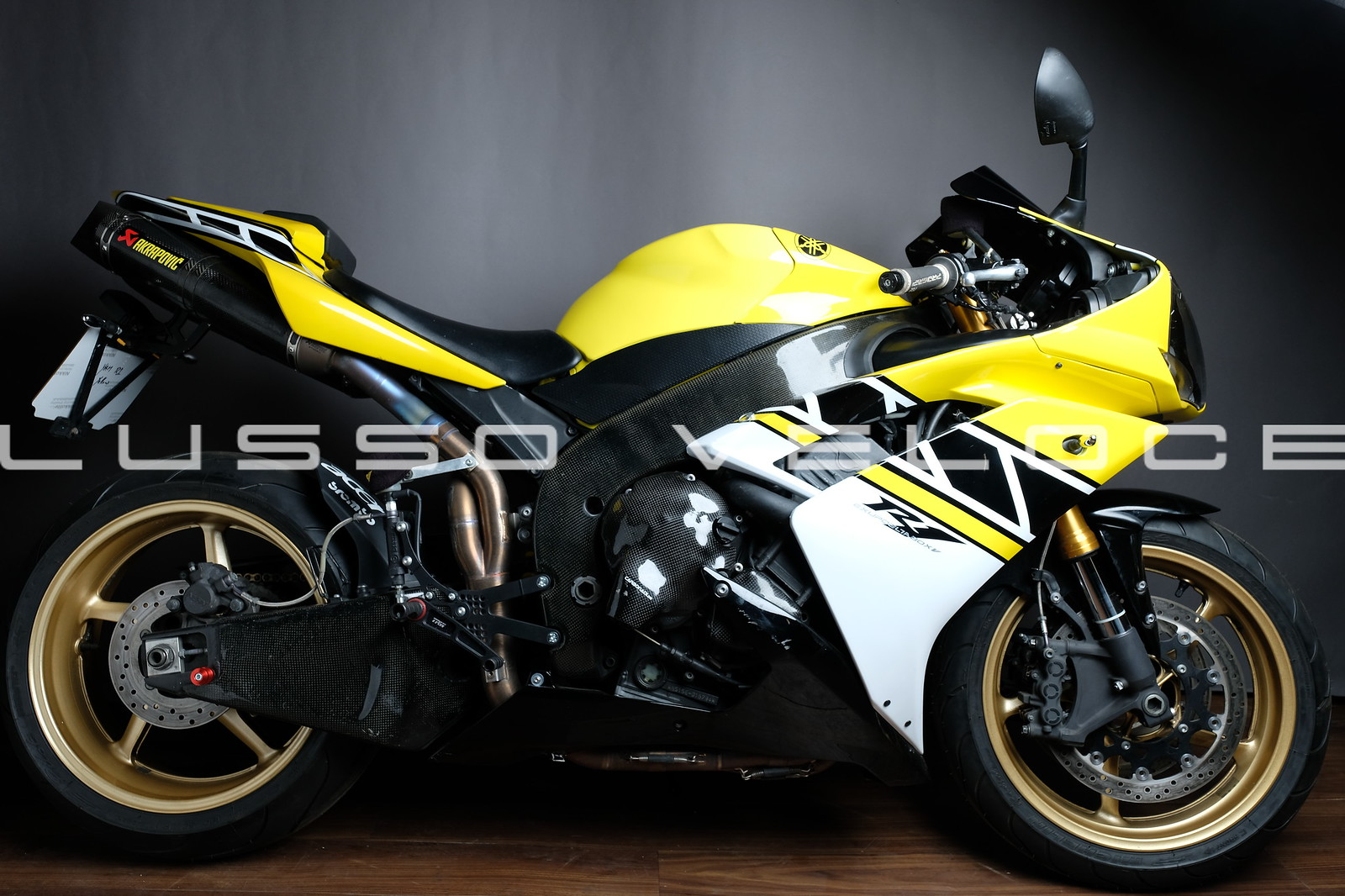 Yamaha YZF R1 in Anniversary colours