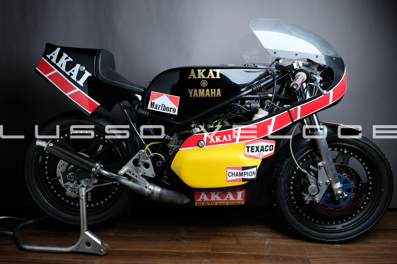 Yamaha TZ 350 Harris 3G3 Akai Sheene rep