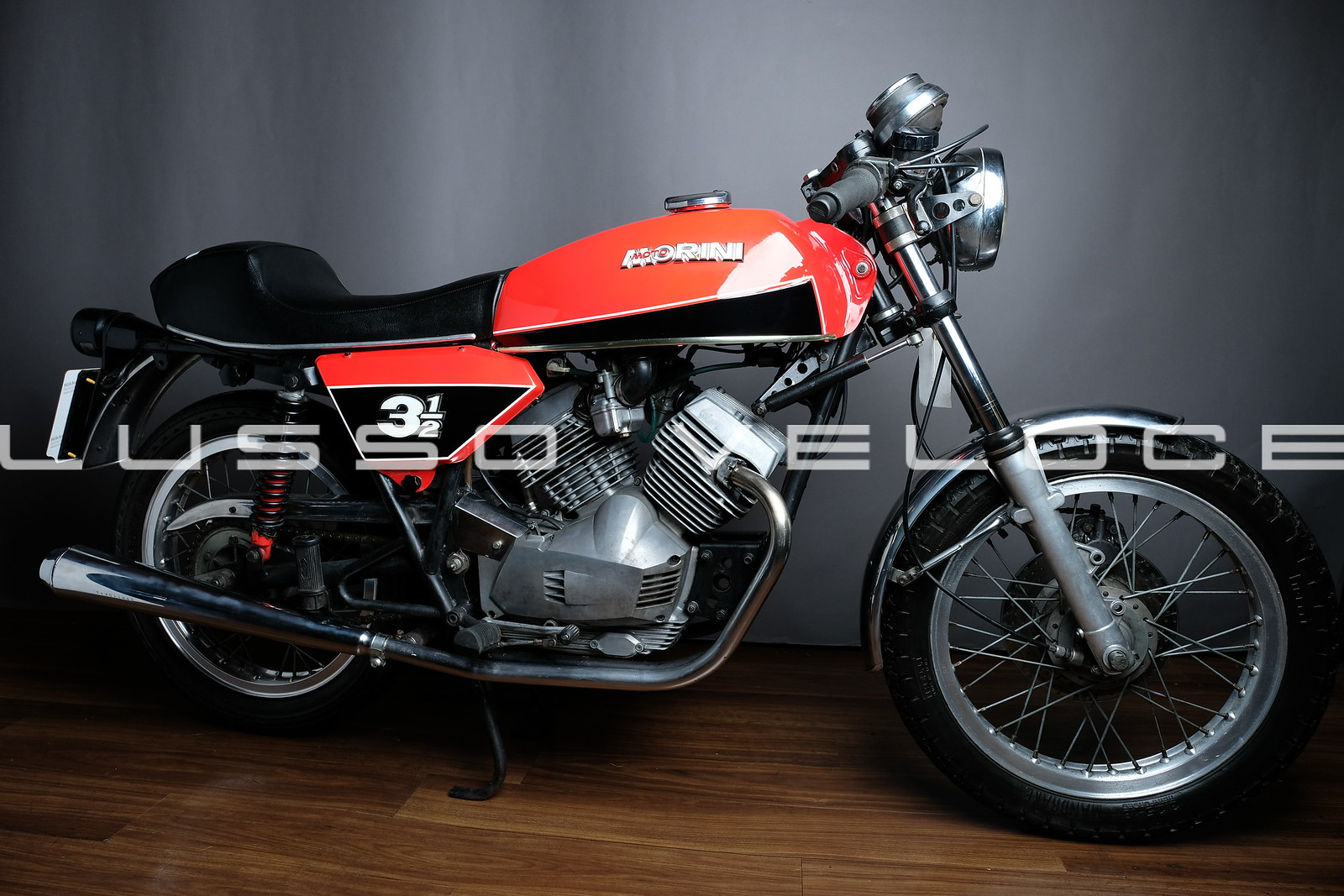 Morini 350 Wires and Disc